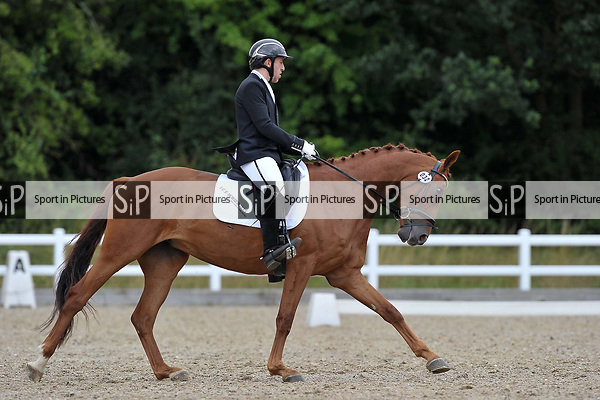 Class 4. Novice 38. British dressage. Brook Farm Training Centre. Essex. 30/07/2017. MANDATORY Credit Garry Bowden/Sportinpictures - NO UNAUTHORISED USE - 07837 394578