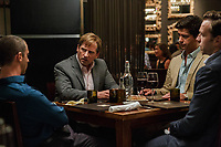 The Big Short (2015)<br /> Steve Carell, Rafe Spall, Jeremy Strong &amp; Hamish Linklater<br /> *Filmstill - Editorial Use Only*<br /> CAP/KFS<br /> Image supplied by Capital Pictures