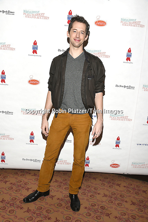 Josh Grisetti attends the Broadway Cares/Equity Fights Aids Flea Market and Grand Auction on September 25, 2016 at the Music Box Theatre and in Shubert Ally in New York, New York, USA. <br /> <br /> photo by Robin Platzer/Twin Images<br />  <br /> phone number 212-935-0770