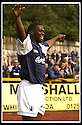 24/8/02         Copyright Pic : James Stewart                     .File Name : stewart-alloa v falkirk 15.FALKIRK'S TRINIDADIAN INTERNATIONALIST COLLIN SAMUEL CELEBRATES AFTER FIRING HOME THE FOURTH GOAL......James Stewart Photo Agency, 19 Carronlea Drive, Falkirk. FK2 8DN      Vat Reg No. 607 6932 25.Office : +44 (0)1324 570906     .Mobile : + 44 (0)7721 416997.Fax     :  +44 (0)1324 570906.E-mail : jim@jspa.co.uk.If you require further information then contact Jim Stewart on any of the numbers above.........