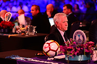 Philadelphia, PA - Thursday January 18, 2018: Tom Sermanni during the 2018 NWSL College Draft at the Pennsylvania Convention Center.