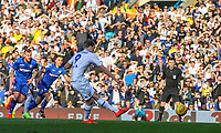 Leeds United's Patrick Bamford scores the opening goal from the penalty spot<br /> <br /> Photographer Alex Dodd/CameraSport<br /> <br /> The EFL Sky Bet Championship - Leeds United v Bolton Wanderers - Saturday 23rd February 2019 - Elland Road - Leeds<br /> <br /> World Copyright © 2019 CameraSport. All rights reserved. 43 Linden Ave. Countesthorpe. Leicester. England. LE8 5PG - Tel: +44 (0) 116 277 4147 - admin@camerasport.com - www.camerasport.com