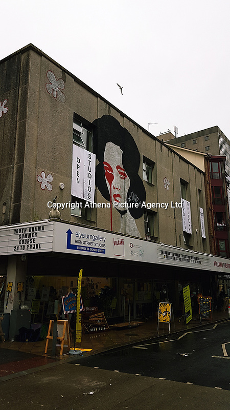 Pictured: The Volcano Theatre, High Street, Swansea. Saturday 15 July 2017<br />