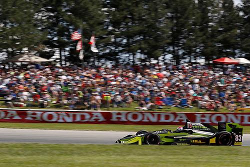 Verizon IndyCar Series<br /> Honda Indy 200 at Mid-Ohio<br /> Mid-Ohio Sports Car Course, Lexington, OH USA<br /> Sunday 30 July 2017<br /> Charlie Kimball, Chip Ganassi Racing Teams Honda<br /> World Copyright: Michael L. Levitt<br /> LAT Images