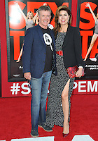 Alan Thicke &amp; Tanya Callau at the world premiere of &quot;Sex Tape&quot; at the Regency Village Theatre, Westwood.<br /> July 10, 2014  Los Angeles, CA<br /> Picture: Paul Smith / Featureflash