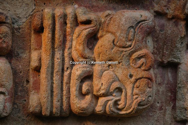 Maya rise and Fall; Copan; Honduras; Detail, 18 Rabbit; glyph; Mayan; Maya; Ancient Cultures