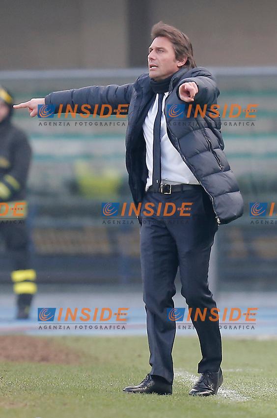 Antonio Conte Juventus, Verona 9-2-2014, Stadio Bentegodi, Football Calcio 2013/2014 Serie A, Hellas Verona - Juventus, Foto Marco Bertorello/Insidefoto