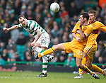 Anthony Stokes blasts a ball over the bar