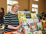 Vicky Gregory of Little Bookworms at the Cottage Market in St. Peter's Parish hall. Photo:Colin Bell/pressphotos.ie