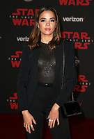 LOS ANGELES, CA - DECEMBER 9: Georgie Flores, at Premiere Of Disney Pictures And Lucasfilm's 'Star Wars: The Last Jedi' at Shrine Auditorium in Los Angeles, California on December 9, 2017. Credit: Faye Sadou/MediaPunch /NortePhoto.com NORTEPHOTOMEXICO