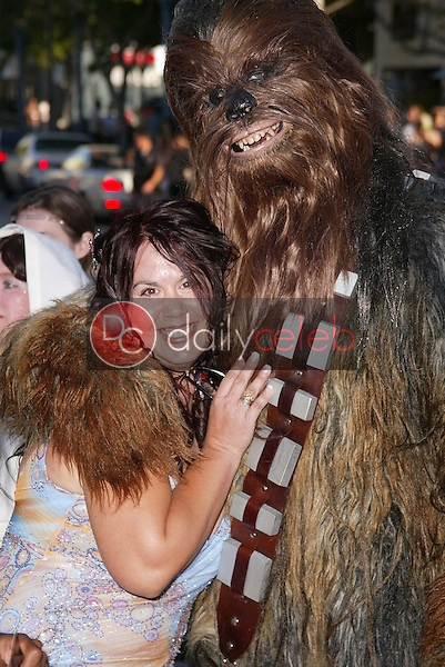 Fileena Bahris and Chewbacca<br />