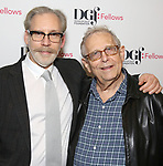 Michael Korie and Richard Maltby Jr. attend the reception for the 2018 Presentation of New Works by the DGF Fellows on October 15, 2018 at the Playwrights Horizons Theatre in New York City.