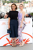 Judith Godreche and Gayle Rankin at the 'The Climb' photocall during the 72nd Cannes Film Festival at the Palais des Festivals on May 17, 2019 in Cannes, France