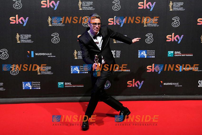 Pif  David Giovani - David young prize<br /> Roma 27-03-2017. Premio David di Donatello 2017.<br /> Rome March 27th 2017. David di Donatello ceremony 2017. <br /> Foto Samantha Zucchi Insidefoto