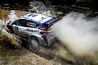 13th March 2020, Guanajuato, Mexico; WRC Rally of Mexico;  Gus Greensmith GBR - Eliott Edmondson GBR - Ford Fiesta WRC