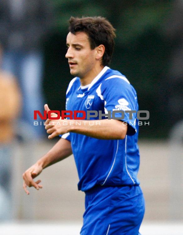 NFV-Pokal Achtelfinale<br /> Torsch&uuml;tze Alban Ramaj (Kickers Emden ALB #10)<br /> Foto &copy; nph (  nordphoto  )<br /> <br /> <br /> <br />  *** Local Caption ***