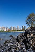 Skyline, Kitsliano, English bay,Vancouver, Canada