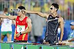 Tomoya Miguchi (JPN), <br /> AUGUST 20, 2016 - Modern Pentathlon : <br /> Men's Combined Event at Deodoro Stadium<br /> during the Rio 2016 Olympic Games in Rio de Janeiro, Brazil. <br /> (Photo by Yusuke Nkanishi/AFLO SPORT)