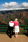 Hawaii: Kauai, at Waimea Canyon.  Photo hifree146.Photo copyright Lee Foster, 510/549-2202, lee@fostertravel.com, www.fostertravel.com