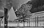Landtag, Parlament, Vaduz, Rheintal, Rhine-valley, Liechtenstein.