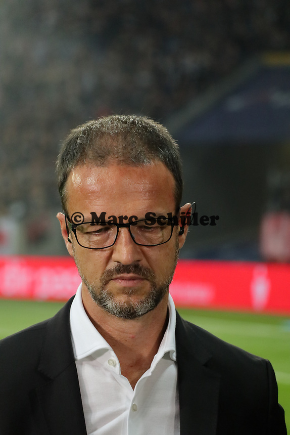 Fredi Bobic (Eintracht Frankfurt) - 29.08.2019: Eintracht Frankfurt vs. Racing Straßburg, UEFA Europa League, Qualifikation, Commerzbank Arena<br /> DISCLAIMER: DFL regulations prohibit any use of photographs as image sequences and/or quasi-video.