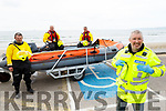Members of Banna Beach Rescue on their raft on Friday in Banna.<br /> Front left: Brian Crean.<br /> Back l to r: John Sheehan, Tom Ward and John Riordan.