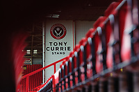 A general view of Bramall Lane, home of Sheffield United FC<br /> <br /> Photographer Chris Vaughan/CameraSport<br /> <br /> The EFL Sky Bet Championship - Sheffield United v Blackburn Rovers - Saturday 29th December 2018 - Bramall Lane - Sheffield<br /> <br /> World Copyright &copy; 2018 CameraSport. All rights reserved. 43 Linden Ave. Countesthorpe. Leicester. England. LE8 5PG - Tel: +44 (0) 116 277 4147 - admin@camerasport.com - www.camerasport.com