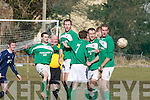 The Castleisland v Wexford team Courtown Hibs in the FAI cup in Castleisland on Sunday