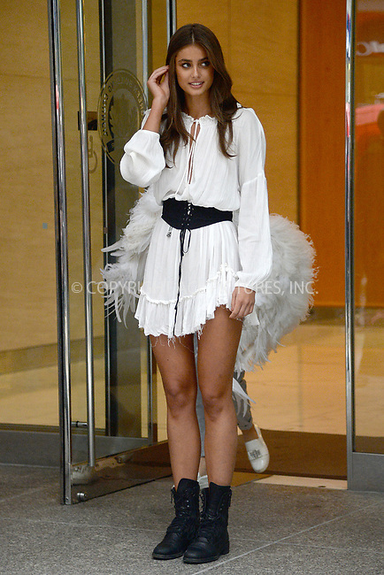 www.acepixs.com<br /> August 29, 2017 New York City<br /> <br /> Taylor Marie Hill attending the fittings for the Victoria's Secret Fashion Show 2017 on August 29, 2017 in New York City.<br /> <br /> Credit: Kristin Callahan/ACE Pictures<br /> <br /> <br /> Tel: (646) 769 0430<br /> e-mail: info@acepixs.com
