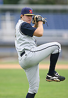 2007:  Daniel Moskos of the State College Spikes, Class-A affiliate of the Pittsburgh Pirates, during the New York-Penn League baseball season.  Photo By Mike Janes/Four Seam Images
