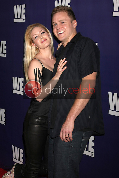 """Heidi Montag, Spencer Pratt<br /> at the WE tv Presents """"The Evolution of Relationship Reality Shows,"""" Paley Center for Media, Beverly Hills, CA 03-19-14<br /> Dave Edwards/DailyCeleb.com 818-249-4998"""
