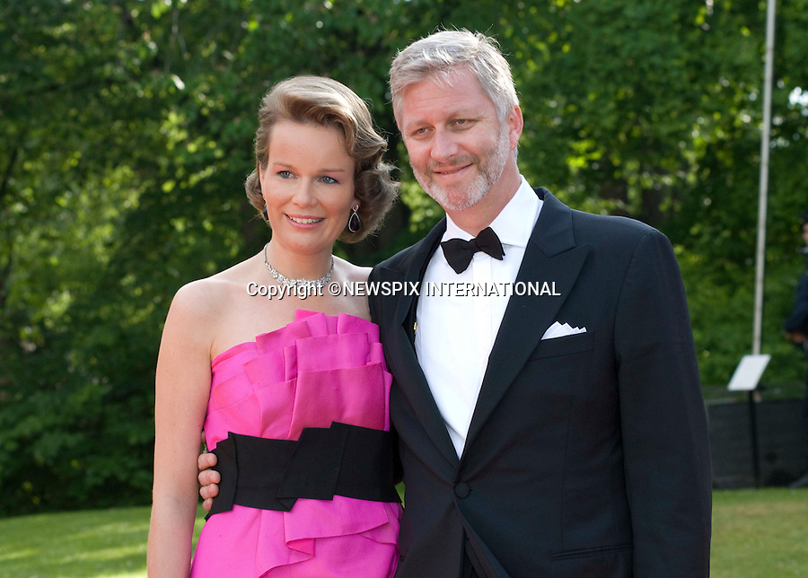 """CROWN PRINCE PHILIPPE AND CROWN MATHILDE OF BELGIUM.PRINCESS VICTORIA_PRE-WEDDING DINNER.hosted by the Swedish Government, Eric Ericsonhallen, Stockholm_18/062010.Mandatory Credit Photo: ©DIAS-NEWSPIX INTERNATIONAL..**ALL FEES PAYABLE TO: """"NEWSPIX INTERNATIONAL""""**..IMMEDIATE CONFIRMATION OF USAGE REQUIRED:.Newspix International, 31 Chinnery Hill, Bishop's Stortford, ENGLAND CM23 3PS.Tel:+441279 324672  ; Fax: +441279656877.Mobile:  07775681153.e-mail: info@newspixinternational.co.uk"""