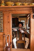 Europe/Suisse/Pays d'Enhaut/Rougemont: Patrick Tschudin, restaurant: Le Comptoir d'Enhaut by Tchou, [Non destiné à un usage publicitaire - Not intended for an advertising use]
