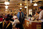 Kendrick Brinson.LUCEO..Inside of the often full Lonnie's Roadhouse, a diner alongside Highway 2 in Williston, North Dakota, January 2012. Williston is currently experiencing an influx of people relocating there for the town's third oil boom...Model Released: yes.Assigning Editor: Michael Wichita.