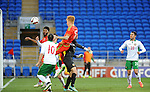 UEFA Under 21 Championship Qualifier - Wales v Bulgaria at the Cardiff City Stadium, UK :<br /> Josh Yorweth scores goal number three for Wales.
