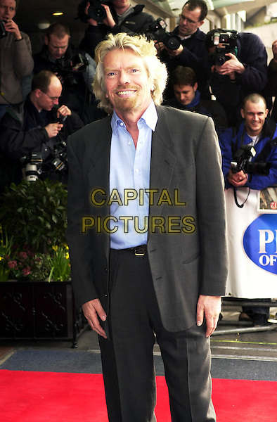 RICHARD BRANSON.Pride of Britain Awards, the Hilton, London.www.capitalpictures.com.sales@capitalpictures.com.© Capital Pictures.