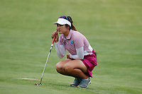 Su Oh (AUS) putts on the 18th hole during the final round of the ShopRite LPGA Classic presented by Acer, Seaview Bay Club, Galloway, New Jersey, USA. 6/10/18.<br /> Picture: Golffile | Brian Spurlock<br /> <br /> <br /> All photo usage must carry mandatory copyright credit (&copy; Golffile | Brian Spurlock)