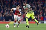14.09.2017, Emirates Stadium, London, GER, Europa League, Arsenal London vs 1. FC Koeln, im Bild<br /> <br /> John Cordoba ( Koeln #15 ), vorne<br /> <br /> <br /> Foto &copy; nordphoto / Treese