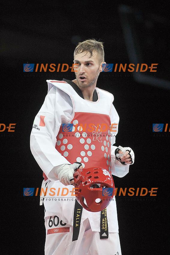 TAEKWONDO Mauro Sarmiento (ITA) batte Azizov (AZE)  2-1.Londra 10/8/2012 .Olympic Games London 2012.Olimpiadi Londra 2012.Foto Giovanni Minozzi / Insidefoto