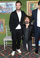04 October 2018 - Los Angeles , California - Jamie Dornan, Peter Dinklage. &quot;My Dinner with Herve&quot; Los Angeles Premiere held at Paramount Studios.     <br /> CAP/ADM/BT<br /> &copy;BT/ADM/Capital Pictures