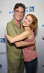 John Glover and Christy Altomare attends the United Airlines Presents: #StarsInTheAlley Produced By The Broadway League on June 1, 2018 in New York City.