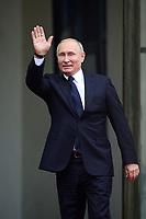Vladimir Poutine - President de la Russie<br /> Parigi 11-11-2018 <br /> Eliseo Pranzo Ufficiale Capi di Stato <br /> Commemorazione 100 anni dalla fine della Grande Guerra, Prima Guerra Mondiale <br /> Foto JB Autissier/Panoramic / Insidefoto
