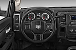 Steering wheel view of a 2013 Dodge Ram 1500 Tradesman Regular Cab