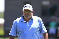 Angel Cabrera (ARG) walks to the 1st tee to start his match during Friday's Round 2 of the 117th U.S. Open Championship 2017 held at Erin Hills, Erin, Wisconsin, USA. 16th June 2017.<br /> Picture: Eoin Clarke | Golffile<br /> <br /> <br /> All photos usage must carry mandatory copyright credit (&copy; Golffile | Eoin Clarke)