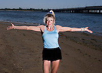 75-yr-old Ginette Bedard, Howard Beach, New York.