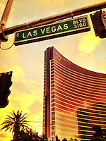 Early morning scene form the Las Vegas strip,  Las Vegas, NV, iPhone photo from the instgram photo stream of bcpix, Florida-based freelance photographer Brian Cleary. (Photo by Brian Cleary/ www.bcpix.com )