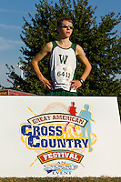 Woodlawn Varsity Cross Country runners compete at the Great American Cross Country Festival in Raleigh, North Carolina.<br /> <br /> Charlotte Photographer - PatrickSchneiderPhoto.com