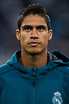 Raphael Varane of Real Madrid prior to the UEFA Champions League 2017-18 match between Real Madrid and Tottenham Hotspur FC at Estadio Santiago Bernabeu on 17 October 2017 in Madrid, Spain. Photo by Diego Gonzalez / Power Sport Images