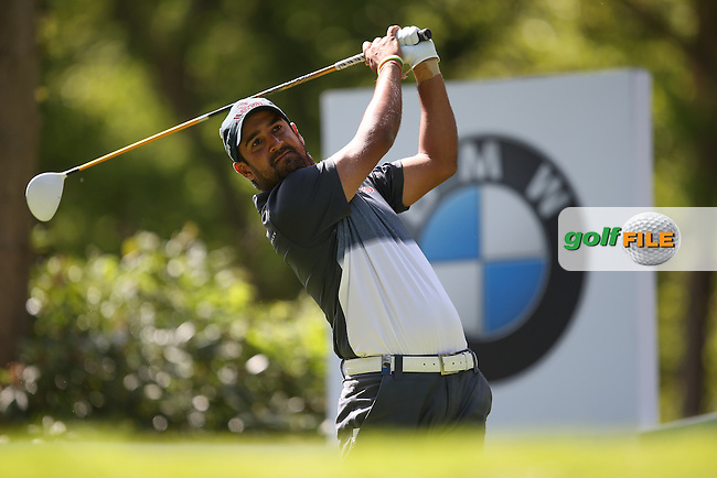 Shiv KAPUR (IND) during Round One of the 2015 BMW PGA Championship over the West Course at Wentworth, Virginia Water, London. 21/05/2015Picture David Lloyd, www.golffile.ie.