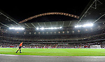 Wembley Stadium London at night during a match during the Friendly International match at Wembley Stadium, London. Picture date 28th May 2008. Picture credit should read: Simon Bellis/Sportimage